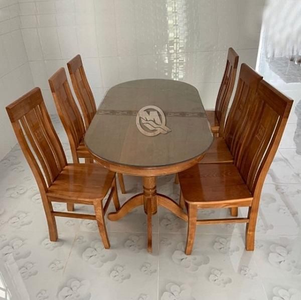 Đặc điểm, cấu tạo của những bộ bàn ăn 6 ghế