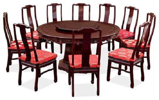 Cách chọn kích thước bàn ăn dành cho 10 người