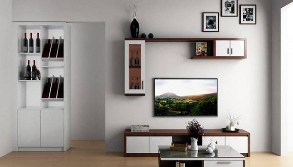 kích thước kệ tivi phòng khách