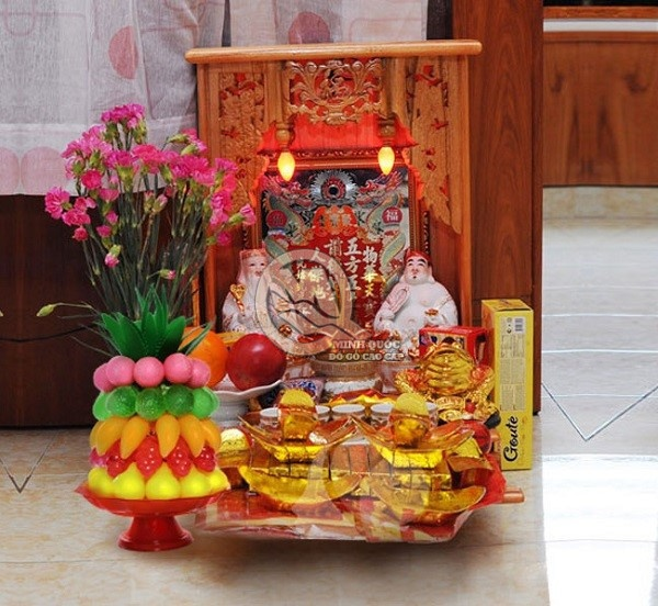 Hướng đặt bàn thờ Ông Địa theo cung và mệnh