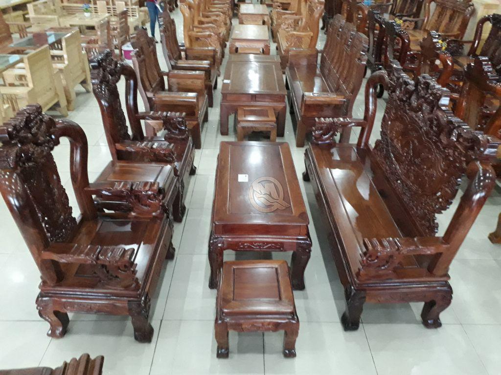 Bộ sofa Hương Đỉnh Rồng Tiên Cảnh 10-SP198
