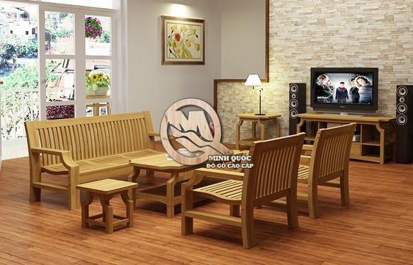 Màu sắc gỗ hài hòa