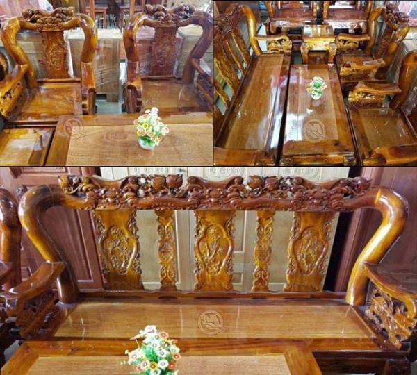 Bí quyết chọn bàn ghế phòng khách cổ điển