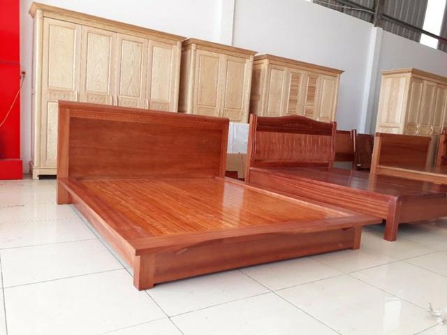 Giường gỗ xoan đào đem đến giấc ngủ thoải mái