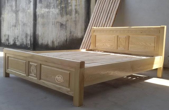 Hướng dẫn kê Giường ngủ gỗ sồi
