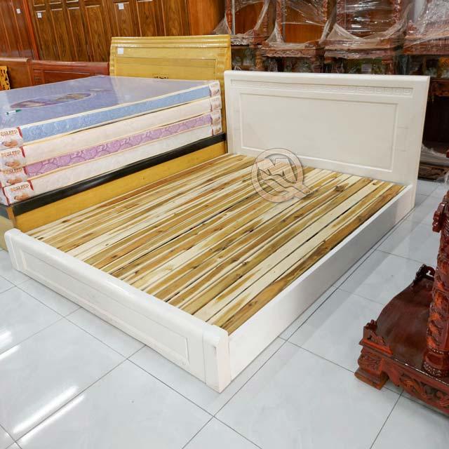Giường Ngủ Kiểu Nhật Sồi Màu - SP756