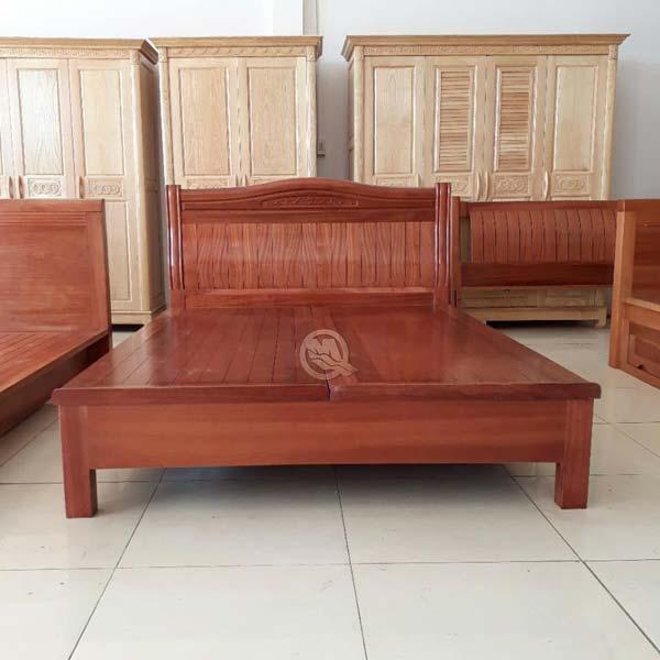Giường Xoan Phản Nan Cong - SP391