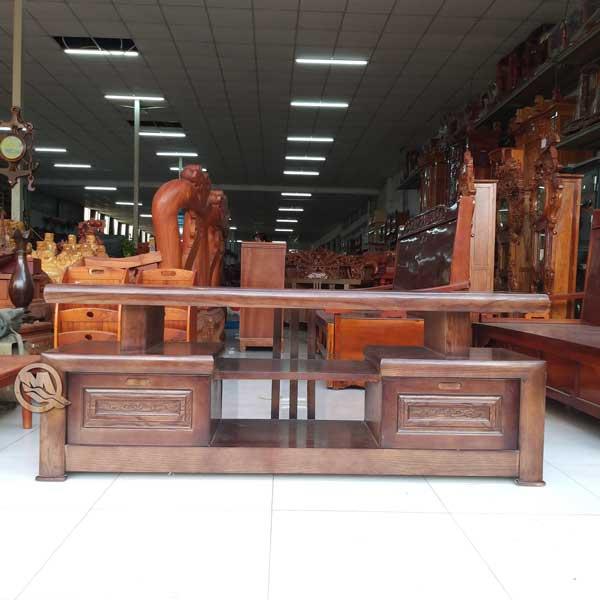 Kệ tivi kiểu Nhật gỗ Mun