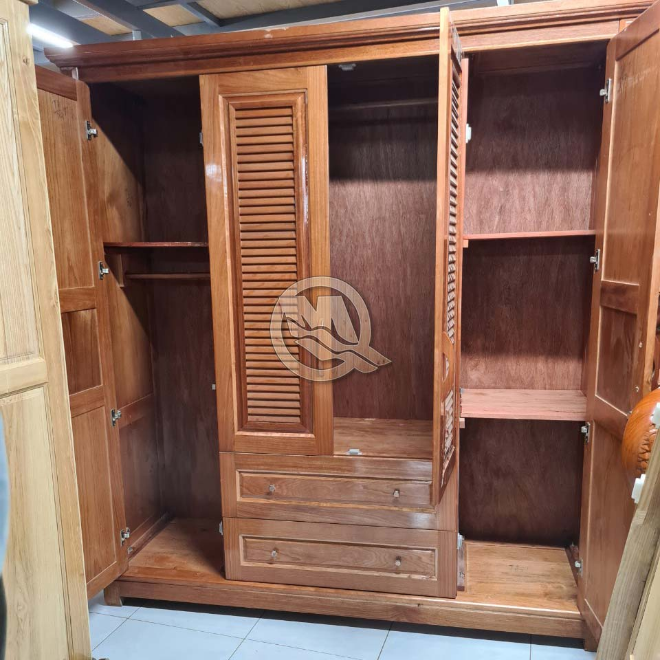 Tủ Áo Xoan Đào 4C LS2H - SP764