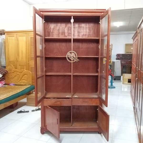 Tủ Sách Xoan Đào - SP622 khi mở ra