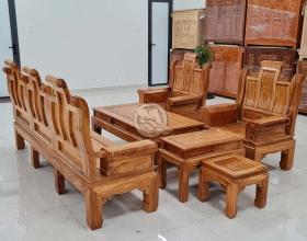 Bộ Sofa Gõ Đỏ Á Âu - SP905