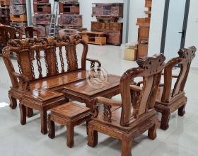 Bộ Sofa Hương Đỉnh Đào Tay 10 - SP903