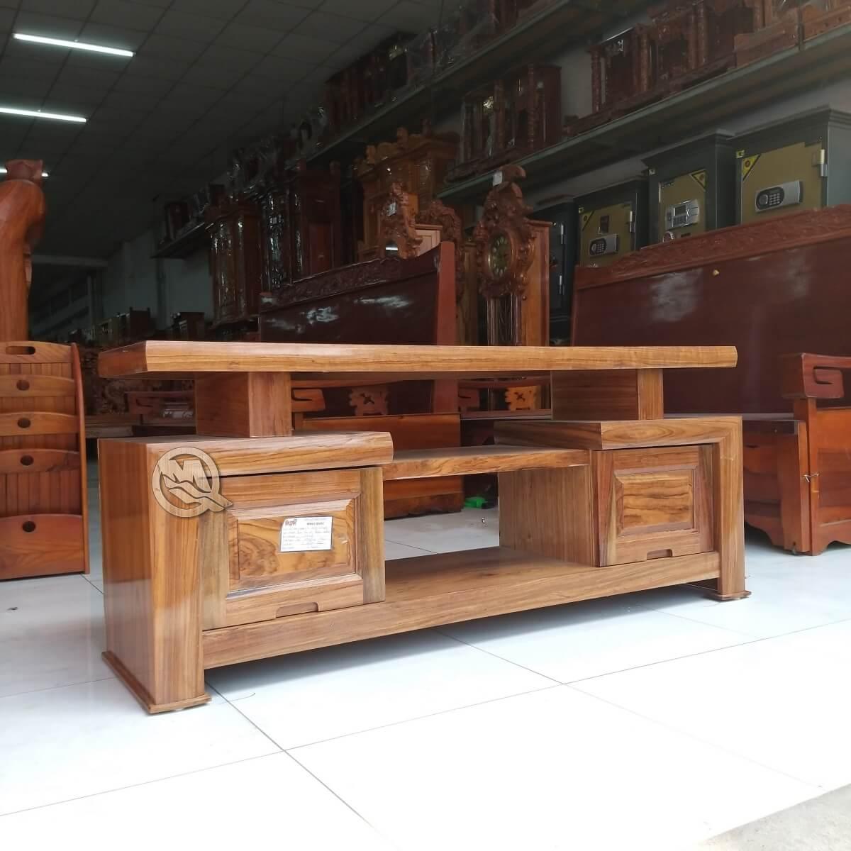 Kệ tivi kiểu nhật gỗ hương SP620 có thiết kế độc đáo