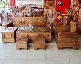 Sofa Đối Pháo Óc Chó - SP809
