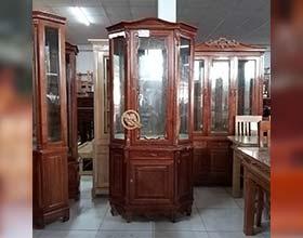 Tủ Rượu Góc 1 Cánh Xoan Đào 1M - SP593